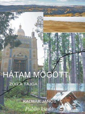 cover image of Hátam mögött zúg a tajga