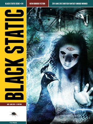 cover image of Black Static #34 Horror Magazine