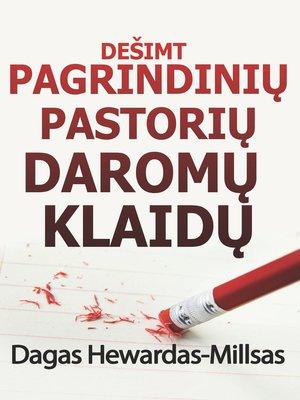 cover image of Dešimt Pagrindinių Pastorių Daromų Klaidų