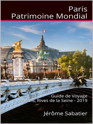 cover image of Paris Patrimoine Mondial