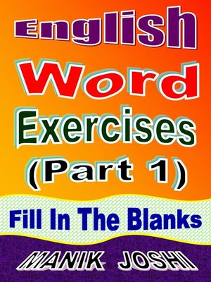 cover image of English Word Exercises (Part 1)