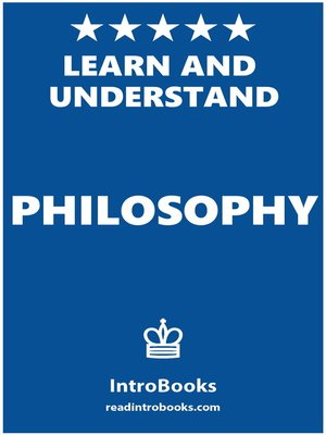 cover image of Learn and Understand Philosophy