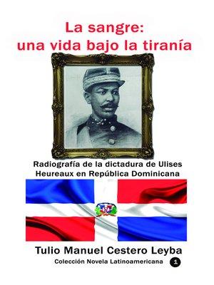 cover image of La sangre