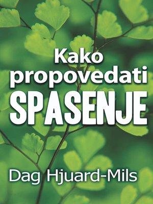 cover image of Kako Propovedati Spasenje