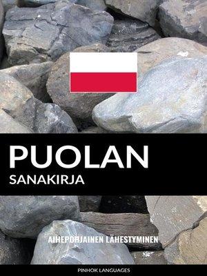 cover image of Puolan sanakirja