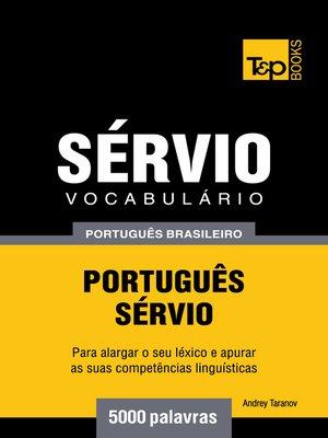 cover image of Vocabulário Português Brasileiro-Sérvio