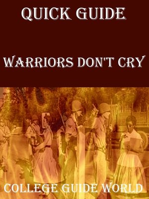 author of warriors don t cry