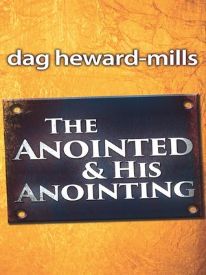 cover image of The Anointed and His Anointing