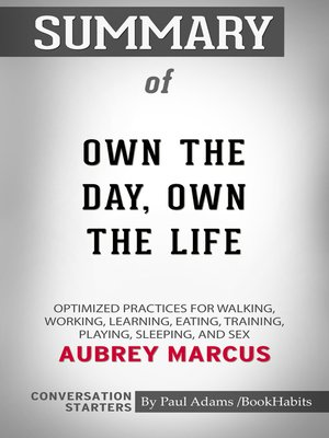 cover image of Summary of Own the Day, Own Your Life