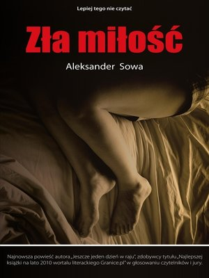 cover image of Zla milosc