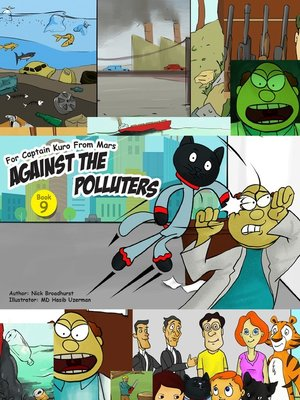 cover image of Captain Kuro From Mars Against the Polluters