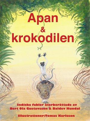 cover image of Apan & krokodilen