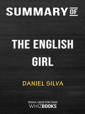 cover image of Summary of the English Girl by Daniel Silva / Trivia/Quiz for Fans