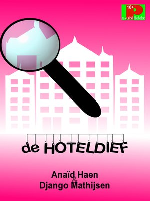 cover image of De hoteldief
