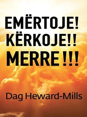 cover image of Emërtoje! Kërkoje!! Merre!!!