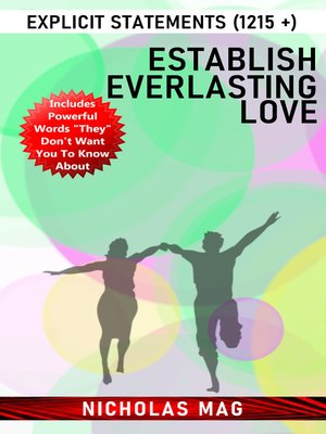 cover image of Establish Everlasting Love
