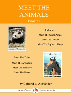 cover image of Meet the Animals; Book 1