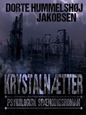 cover image of Krystalnætter