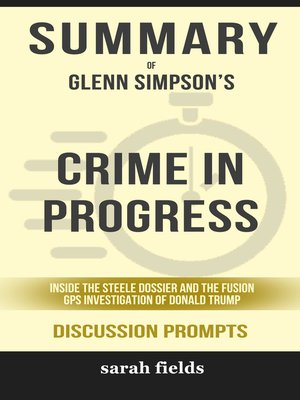 cover image of Summary of Crime in Progress