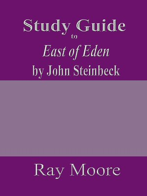 cover image of Study Guide to East of Eden by John Steinbeck