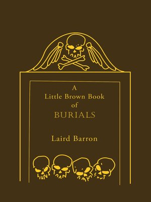 cover image of A Little Brown Book of Burials