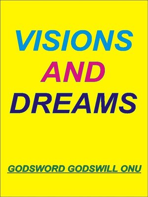 cover image of Visions and Dreams
