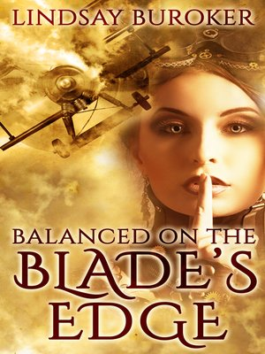 cover image of Balanced on the Blade's Edge (Dragon Blood, Book 1)