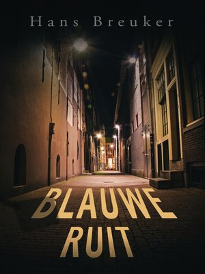 cover image of Blauwe ruit