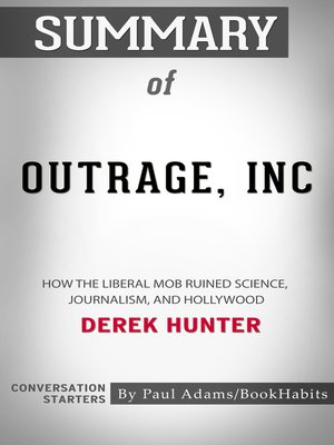 cover image of Summary of Outrage, Inc.