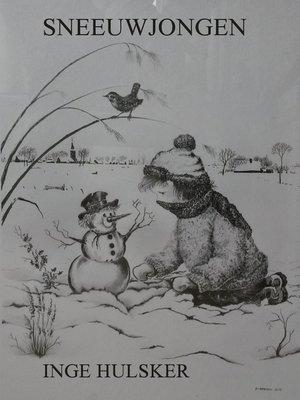 cover image of Sneeuwjongen