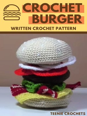 cover image of Crochet Burger