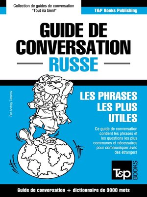 cover image of Guide de conversation Français-Russe et vocabulaire thématique de 3000 mots