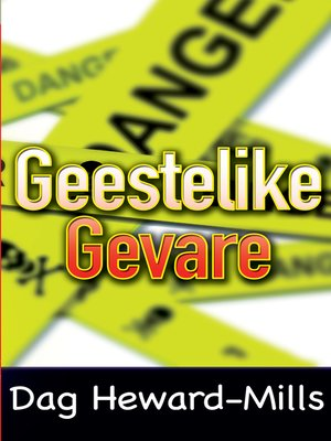 cover image of Geestelike gevare