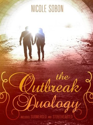 Cover Image Of The Outbreak Duology YA Dystopian Romance