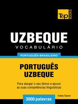 cover image of Vocabulário Português Brasileiro-Uzbeque