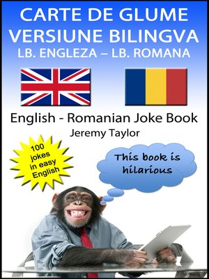 cover image of Carte De Glume Versiune Bilingva Lb. Engleza – Lb. Romana (English Romanian Joke Book)