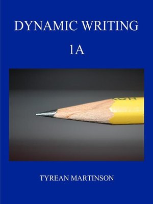 cover image of Dynamic Writing 1A First Semester