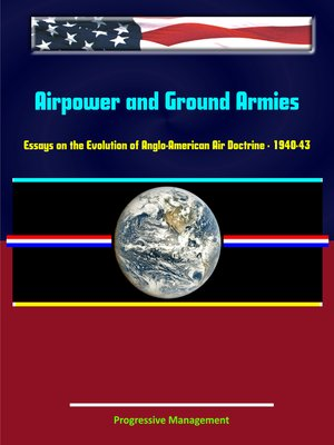 cover image of Airpower and Ground Armies