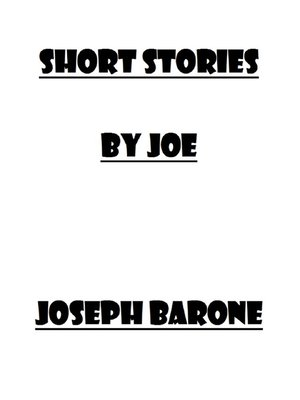 cover image of Short Stories by Joe