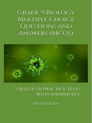 cover image of Grade 9 Biology Multiple Choice Questions and Answers (MCQs)