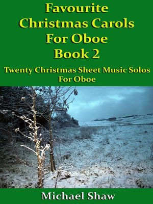 cover image of Favourite Christmas Carols For Oboe Book 2