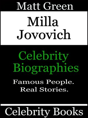 cover image of Milla Jovovich