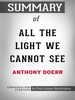 cover image of Summary of All the Light We Cannot See