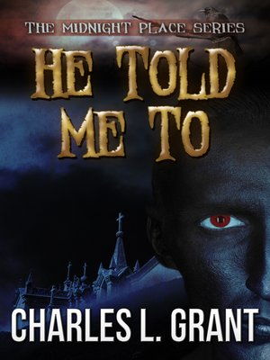 cover image of He Told Me To