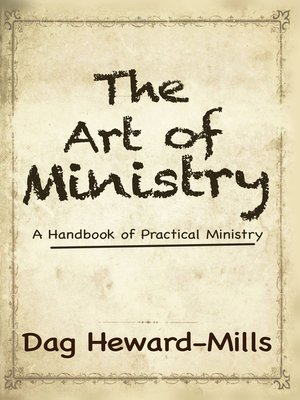 cover image of The Art of Ministry