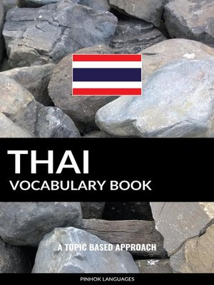 cover image of Thai Vocabulary Book
