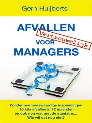 cover image of Afvallen voor Managers