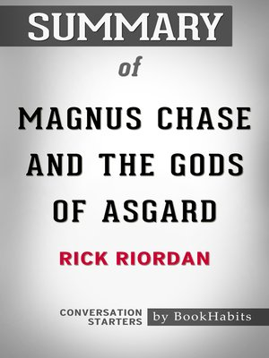cover image of Summary of Magnus Chase and the Gods of Asgard by Rick Riordan / Conversation Starters