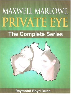 cover image of The Maxwell Marlowe, Private Eye Series