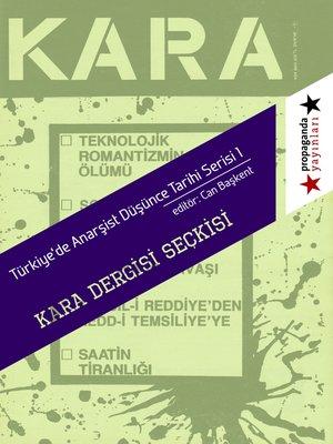 "cover image of ""Kara"" Dergisi Seckisi"